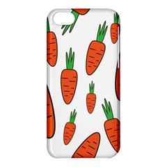 Fruit Vegetable Carrots Apple Iphone 5c Hardshell Case by Mariart