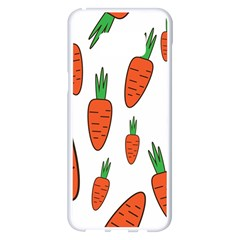 Fruit Vegetable Carrots Samsung Galaxy S8 Plus White Seamless Case by Mariart