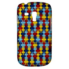 Fuzzle Red Blue Yellow Colorful Galaxy S3 Mini by Mariart