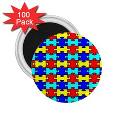 Game Puzzle 2 25  Magnets (100 Pack)  by Mariart