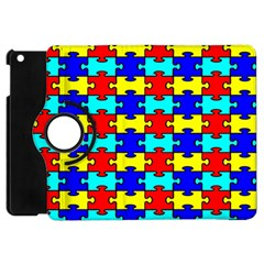 Game Puzzle Apple Ipad Mini Flip 360 Case by Mariart