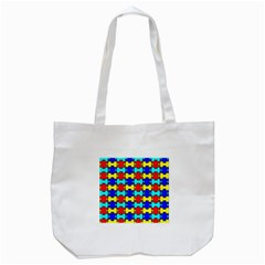 Game Puzzle Tote Bag (white) by Mariart