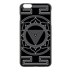 Kali Yantra Inverted Apple Iphone 6 Plus/6s Plus Black Enamel Case by Mariart