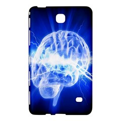 Lightning Brain Blue Samsung Galaxy Tab 4 (7 ) Hardshell Case  by Mariart
