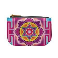 Kali Yantra Inverted Rainbow Mini Coin Purses by Mariart