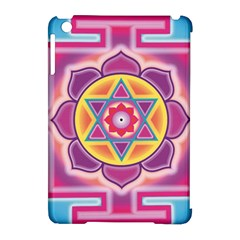 Kali Yantra Inverted Rainbow Apple Ipad Mini Hardshell Case (compatible With Smart Cover) by Mariart