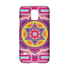 Kali Yantra Inverted Rainbow Samsung Galaxy S5 Hardshell Case  by Mariart