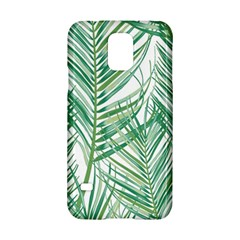 Jungle Fever Green Leaves Samsung Galaxy S5 Hardshell Case  by Mariart