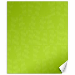Line Green Canvas 8  X 10  by Mariart