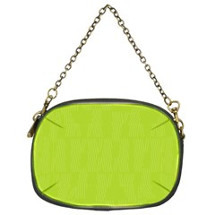 Line Green Chain Purses (one Side)  by Mariart