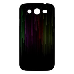 Line Rain Rainbow Light Stripes Lines Flow Samsung Galaxy Mega 5 8 I9152 Hardshell Case  by Mariart