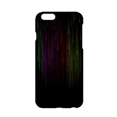 Line Rain Rainbow Light Stripes Lines Flow Apple Iphone 6/6s Hardshell Case by Mariart