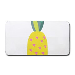 Pineapple Fruite Yellow Triangle Pink Medium Bar Mats by Mariart