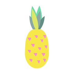 Pineapple Fruite Yellow Triangle Pink 5 5  X 8 5  Notebooks by Mariart