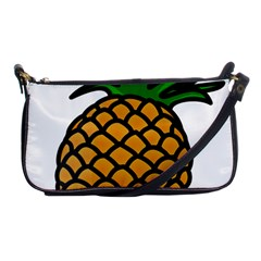 Pineapple Fruite Yellow Green Orange Shoulder Clutch Bags by Mariart