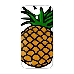 Pineapple Fruite Yellow Green Orange Samsung Galaxy S4 I9500/i9505  Hardshell Back Case by Mariart