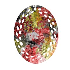 Garden Abstract Ornament (oval Filigree) by theunrulyartist