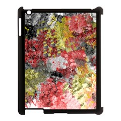 Garden Abstract Apple Ipad 3/4 Case (black) by theunrulyartist