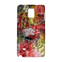 Garden Abstract Samsung Galaxy Note 4 Hardshell Case by theunrulyartist