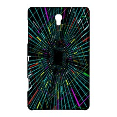 Colorful Geometric Electrical Line Block Grid Zooming Movement Samsung Galaxy Tab S (8 4 ) Hardshell Case  by Mariart