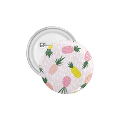 Pineapple Rainbow Fruite Pink Yellow Green Polka Dots 1 75  Buttons by Mariart