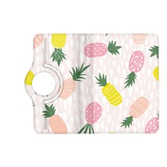 Pineapple Rainbow Fruite Pink Yellow Green Polka Dots Kindle Fire Hd (2013) Flip 360 Case by Mariart