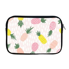Pineapple Rainbow Fruite Pink Yellow Green Polka Dots Apple Macbook Pro 17  Zipper Case by Mariart