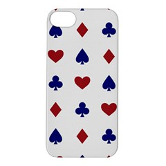 Playing Cards Hearts Diamonds Apple Iphone 5s/ Se Hardshell Case by Mariart