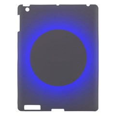 Pure Energy Black Blue Hole Space Galaxy Apple Ipad 3/4 Hardshell Case by Mariart