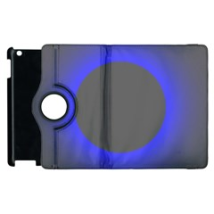 Pure Energy Black Blue Hole Space Galaxy Apple Ipad 3/4 Flip 360 Case by Mariart
