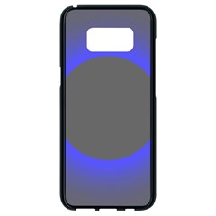 Pure Energy Black Blue Hole Space Galaxy Samsung Galaxy S8 Black Seamless Case by Mariart