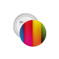 Rainbow Stripes Vertical Lines Colorful Blue Pink Orange Green 1 75  Buttons by Mariart
