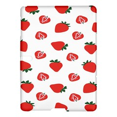 Red Fruit Strawberry Pattern Samsung Galaxy Tab S (10 5 ) Hardshell Case  by Mariart