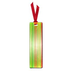 Rainbow Stripes Vertical Colorful Bright Small Book Marks by Mariart
