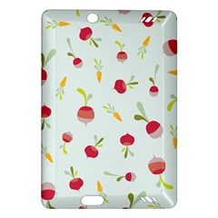 Root Vegetables Pattern Carrots Amazon Kindle Fire Hd (2013) Hardshell Case by Mariart