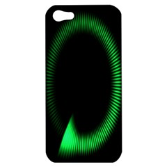 Rotating Ring Loading Circle Various Colors Loop Motion Green Apple Iphone 5 Hardshell Case by Mariart