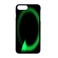 Rotating Ring Loading Circle Various Colors Loop Motion Green Apple Iphone 7 Plus Seamless Case (black) by Mariart