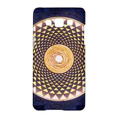 Sahasrara Blue Samsung Galaxy A5 Hardshell Case  by Mariart
