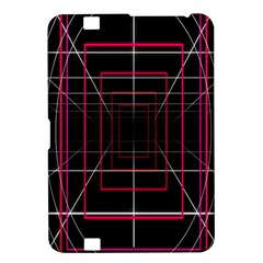Retro Neon Grid Squares And Circle Pop Loop Motion Background Plaid Kindle Fire Hd 8 9  by Mariart