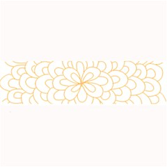Rosette Flower Floral Large Bar Mats by Mariart