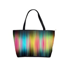 Sound Colors Rainbow Line Vertical Space Shoulder Handbags by Mariart