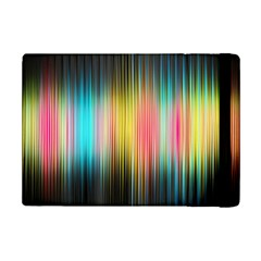 Sound Colors Rainbow Line Vertical Space Ipad Mini 2 Flip Cases by Mariart