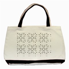 Squid Flower Floral Polka Dots Sunflower Basic Tote Bag by Mariart