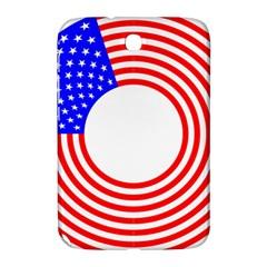 Stars Stripes Circle Red Blue Samsung Galaxy Note 8 0 N5100 Hardshell Case