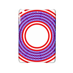 Stars Stripes Circle Red Blue Space Round Ipad Mini 2 Hardshell Cases by Mariart