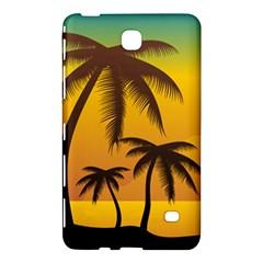 Sunset Summer Samsung Galaxy Tab 4 (8 ) Hardshell Case  by Mariart