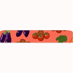 Vegetable Carrot Tomato Pumpkin Eggplant Small Bar Mats by Mariart