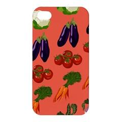 Vegetable Carrot Tomato Pumpkin Eggplant Apple Iphone 4/4s Premium Hardshell Case by Mariart