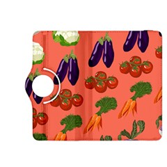 Vegetable Carrot Tomato Pumpkin Eggplant Kindle Fire Hdx 8 9  Flip 360 Case by Mariart