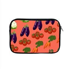 Vegetable Carrot Tomato Pumpkin Eggplant Apple Macbook Pro 15  Zipper Case by Mariart